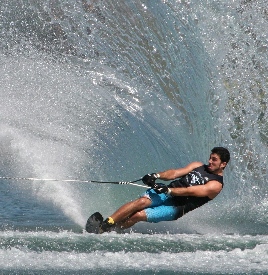 smc alum competes for water ski title
