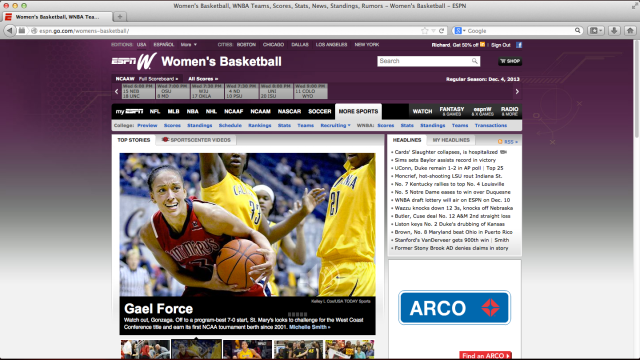 ESPNW Screen Shot