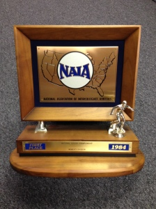 1984 NAIA National Soccer Trophy