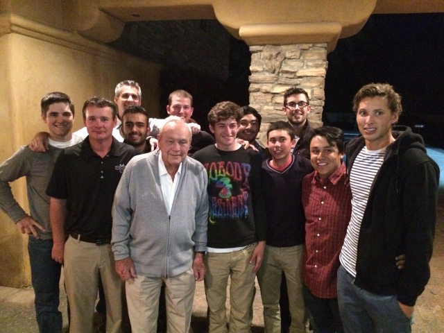 SMC Gaels With Arnold Palmer