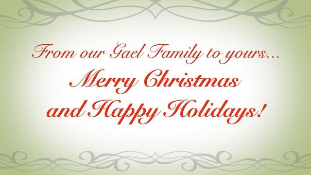 Merry Gael Christmas